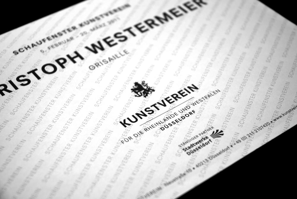 Kunstverein Düsseldorf, Various printed matter