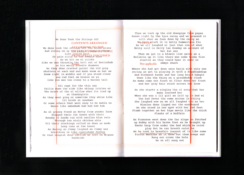 Hack a book, Booklet