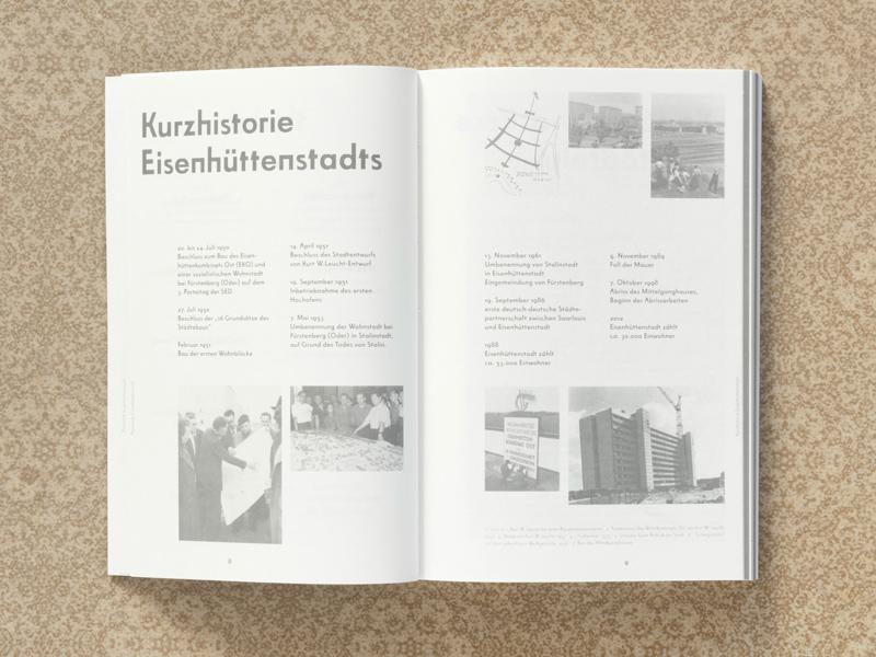 Planstadt Eisenhüttenstadt, Book