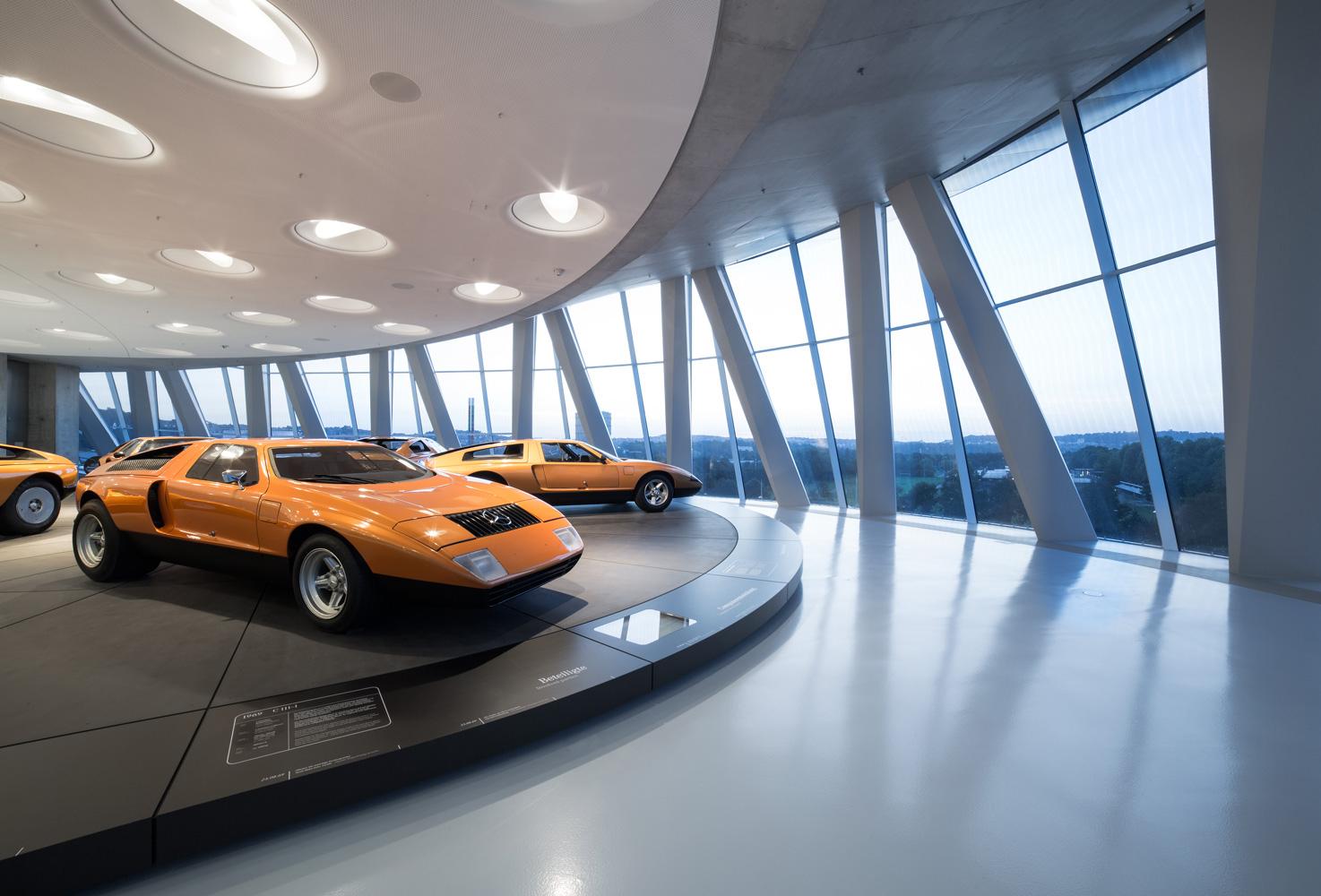 Mercedes-Benz C111, Exhibition